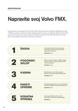 Volvo FMX, Specifikacije