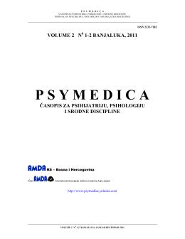 volume 2 n - psymedica