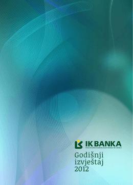 Godišnji izvještaj 2012