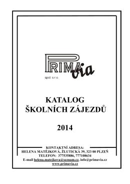 2014 desky - Prima Via
