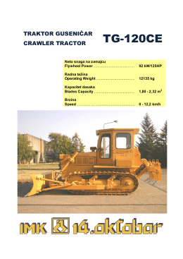 TG-120CE - 14 oktobar