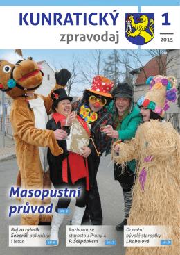 Kunratický zpravodaj 1/2015