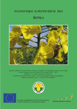 Stanovisko k pesticidům – řepka 2014