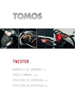 TWISTER - Tomos.si