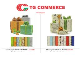Katalog poklon program-Ukrasni papir, mašne, kese, kutije i čestitke