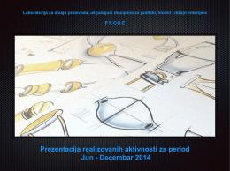 Laboratorija za dizajn proizvoda, uključijući discipline za grafički