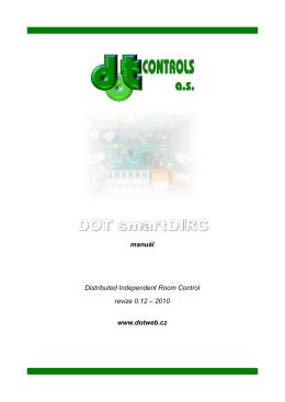 DOT smartDIRC - manuál - srpen 2010