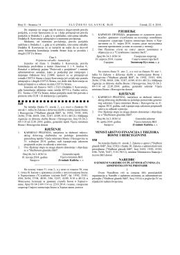 549 rješenje рјешење rješenje ministarstvo financija i - uip