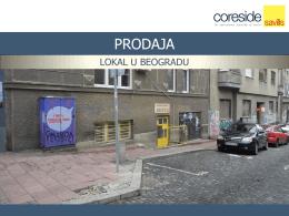 PRODAJA - Coreside