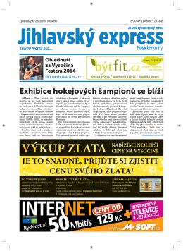 srpen - Jihlavský express