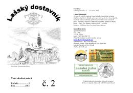 Lašský dostavník č. 2/2011