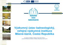 Výzkumný ústav balneologický, v.v.i.