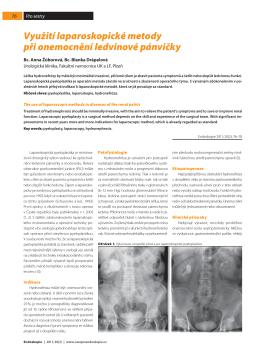Otevřít - Endoskopie