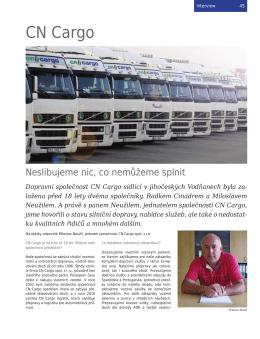 zobrazit článek - CN Cargo, spol. s ro