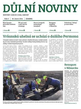 Důlní noviny ročník XVII číslo 2