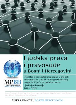 ljudska prava i pravosudje u bosni i hercegovini 2011-2012