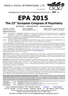 Psihijatrija i ostale srodne oblasti