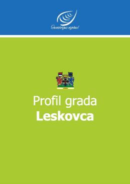 City of Leskovac - ALER - Agencija za lokalni ekonomski razvoj