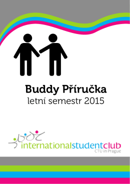 Stáhnou Buddy Příručku (PDF) - International Student Club CTU in