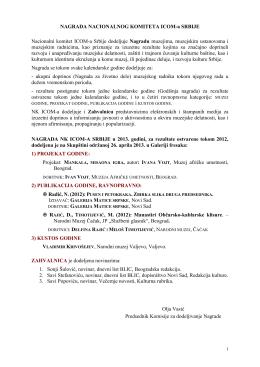 Obaveštenje Komisije.