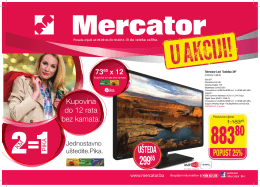 UŠTEDA - Mercator
