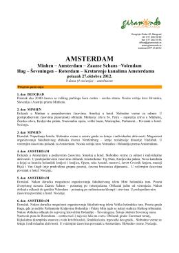 AMSTERDAM - Giramondo