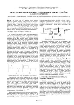 izračunavanje snage distorzije u integrisanom meraču