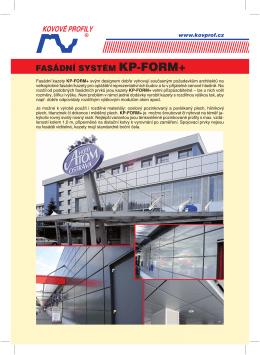 Fasádní kazety KP-FORM+ svým designem dobře vyhovují