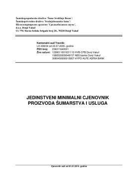 Jedinstveni minimalni cjenovnik proizvoda šumarstva i usluga.pdf