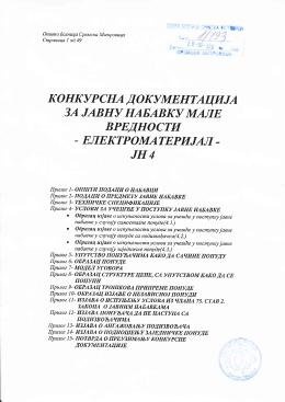 Konkursna_dokumentacija_JNMV4_Elektromaterijal