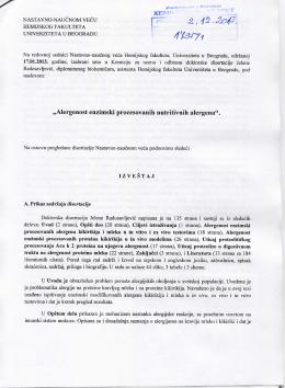 Izveštaj komisije