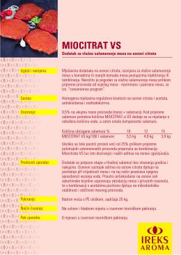 MIOCITRAT VS
