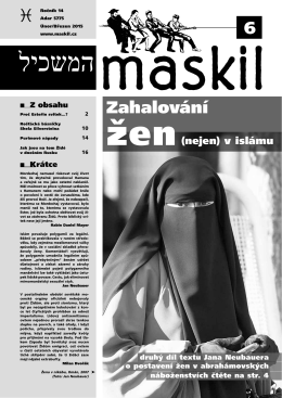 č.6 - Maskil