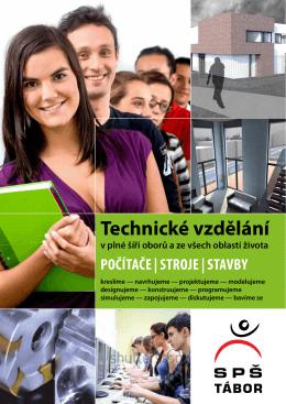 Leták - SPŠ Tábor, Technické vzdělání rev. 2013/14 (pdf, 484 kB)