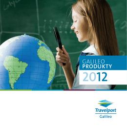 Galileo Produkty 2012 - Travelport Česká republika