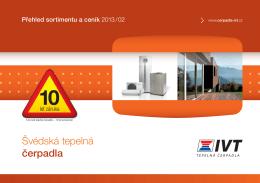 Katalog - ceník 2013