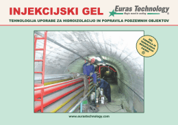 INJEKCIJSKI GEL - Euras Technology Gel