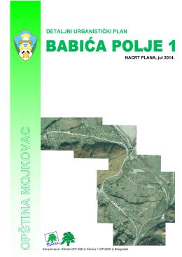 PDR Babića Polje - Opština Mojkovac