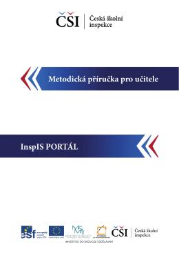InspIS PORTÁL Metodická příručka pro učitele