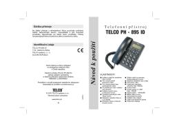 Telco PH-895ID CZ