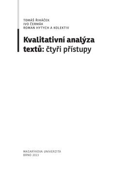 Kvalitativni analyza textu