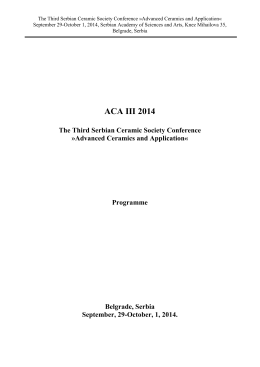 Conference programme (PDF)