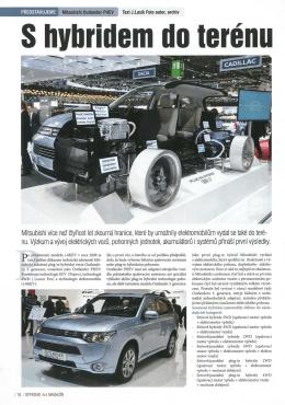 S hybridem do terénu: Mitsubishi Outlander PHEV