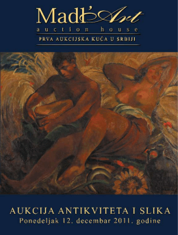 25. Aukcija antikviteta i slika