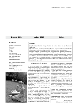 Okénko do farnosti 4/2013 (formát pdf) - Farnost Letohrad