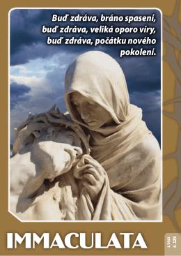 Radost z víry - Immaculata