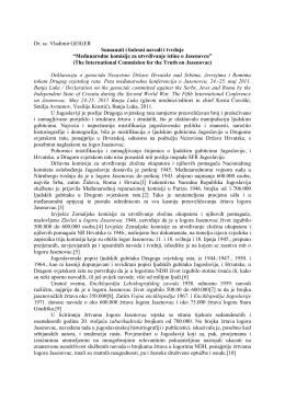 Dr. Vladimir Geiger o tvrdnjama Međunarodne