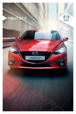 Stáhnout brožuru Mazda3