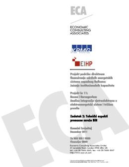 Tehnički aspekti prenosne mreže prenosne mreže BiH