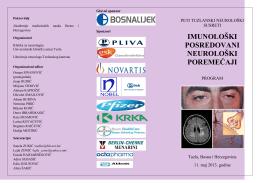 PETI TUZLANSKI NEUROLOŠKI SUSRETI